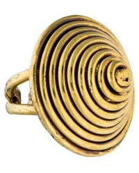 Anndra Neen - Cone Ring Gold - Lyst