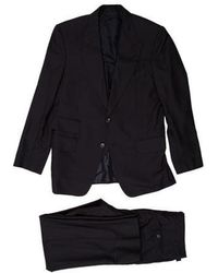Tom Ford - Wool Three Piece Suit Navy - Lyst