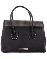 Thomas Wylde - Studded Leather Handle Bag Black - Lyst