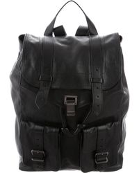 Proenza Schouler - Leather Ps1 Backpack Black - Lyst