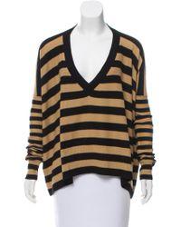 Sonia Rykiel - Striped Cashmere Sweater - Lyst