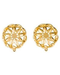 Givenchy - Celestial Clip-on Earrings Gold - Lyst
