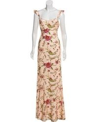 Rachel Zoe - Sequin Embellished Leola Gown W/ Tags Orange - Lyst