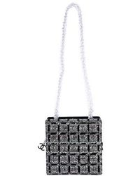 6cdd43b8d976 Chanel - 2016 Chain Fantasy Tweed Bag Black - Lyst