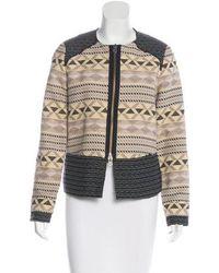 Day Birger et Mikkelsen - Patterned Zip-up Jacket Multicolor - Lyst