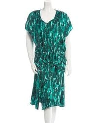 Hussein Chalayan - Printed Dress - Lyst