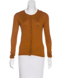 Miu Miu - Miu Long Sleeve Button-up Cardigan - Lyst