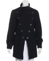 Vivienne Westwood Anglomania - Wool Double-breasted Coat - Lyst