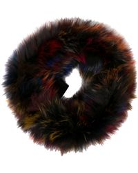 Adrienne Landau - Fox Fur Infinity Scarf W/ Tags - Lyst