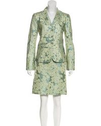 Moschino - Floral Knee-length Skirt Suit - Lyst