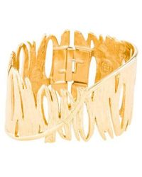 Givenchy - Feather Bangle Gold - Lyst