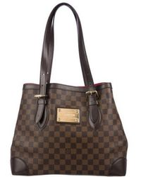 Louis Vuitton - Damier Ebene Hampstead Mm Brown - Lyst