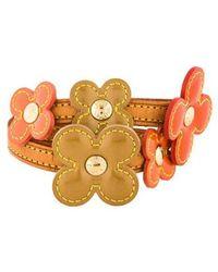 Louis Vuitton - Vernis Fleur Bracelet Gold - Lyst