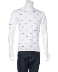 Viktor & Rolf - Glasses Print T-shirt - Lyst