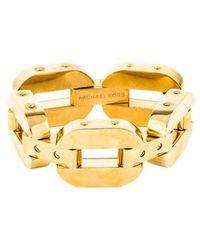 Michael Kors - Anchor Link Drama Bracelet Gold - Lyst