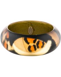 Alexis Bittar - Printed Lucite Bangle Gold - Lyst