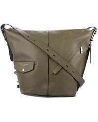 Marc Jacobs - Leather Messenger Bag Olive - Lyst