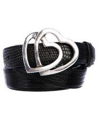 Tiffany & Co. - Sterling Lizard Belt Black - Lyst