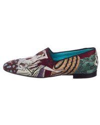 Tom Ford - William Velvet Embroidered Smoking Slippers - Lyst