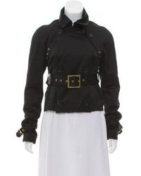 Alessandro Dell'acqua - Belted Double-breasted Jacket - Lyst