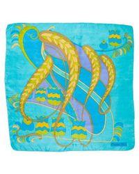 Dior - Silk Printed Scarf - Lyst