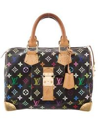 Louis Vuitton - Multicolore Speedy 30 Black - Lyst 82520008dec