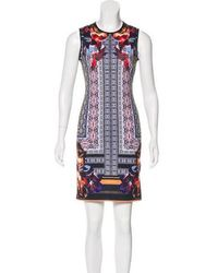 Clover Canyon - Printed Bodycon Dress - Lyst