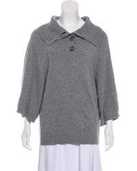 Duro Olowu - Cashmere Knit Sweater Grey - Lyst