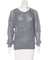 Vanessa Bruno Athé - Open Knit Sweater W/ Tags - Lyst