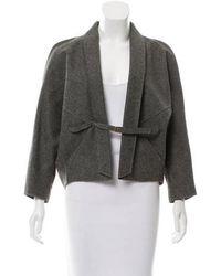 Veronique Leroy - Wool Casual Jacket Grey - Lyst