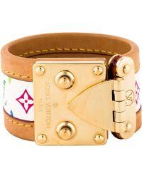 Louis Vuitton - Multicolore Monogram Koala Bracelet Gold - Lyst