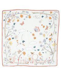 Nina Ricci - Printed Woven Handkerchief - Lyst