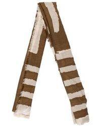 By Malene Birger - Printed Woven Scarf - Lyst