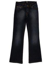 Just Cavalli - Mid-rise Flared Leg Jeans - Lyst