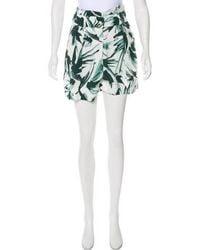 By Malene Birger - Printed Mini Shorts W/ Tags - Lyst