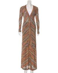 Missoni - Metallic Knit Skirt Set - Lyst
