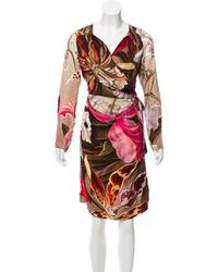 Vivienne Westwood Red Label - Vivienne Westwood Label Midi Wrap Dress - Lyst