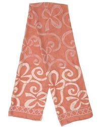 Rochas - Printed Silk Scarf - Lyst