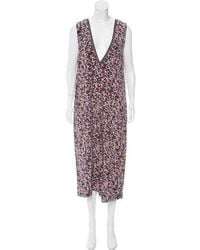 Mother Of Pearl - Floral Print Silk Jumpsuit Multicolor - Lyst
