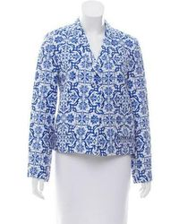 Creatures of the Wind - Printed Shawl Lapel Blazer W/ Tags - Lyst