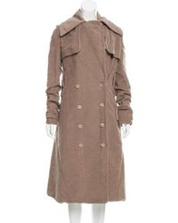 Reed Krakoff - Double-breasted Coat Neutrals - Lyst