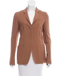 Reed Krakoff - Tailored Woven Blazer Neutrals - Lyst