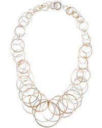 Tiffany & Co. - 1837 Interlocking Circles Necklace Silver - Lyst