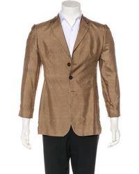 Jean Paul Gaultier - Silk Three-button Blazer - Lyst