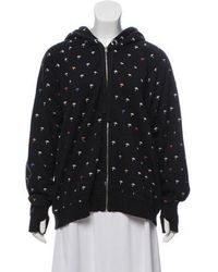 Thomas Wylde - Hooded Zip-up Sweater - Lyst