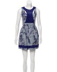 Mackage - Sleeveless Mini Sheath Dress - Lyst