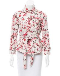 Thakoon Addition - Floral Jacket W/ Tags Beige - Lyst