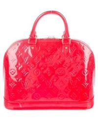 Louis Vuitton - Vernis Alma Pm Rouge - Lyst