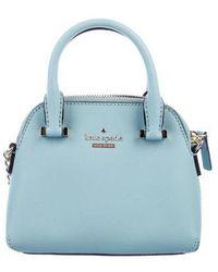 Kate Spade - Cedar Street Mini Maise Bag Blue - Lyst