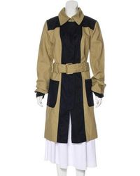 Tory Burch - Knee-length Trench Coat W/ Tags Khaki - Lyst